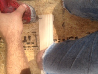 Picture of Frame Assembly (1/4) - Leg Sections
