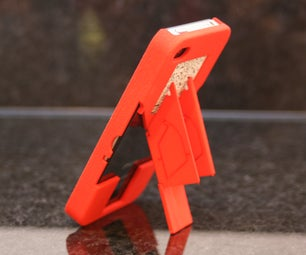 TriStand QR 3D Printed IPhone Case