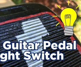 Chic Guitar Pedal Light Switch
