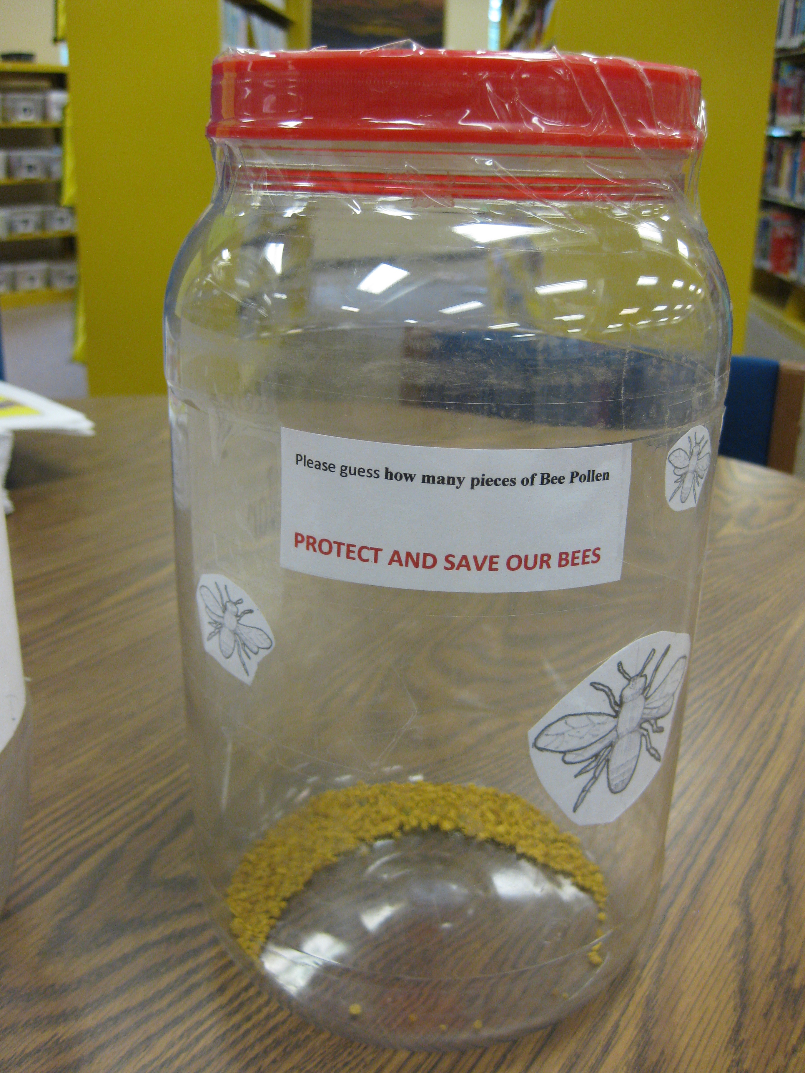 Picture of Bee Pollen Guessing Jar