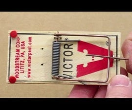How to Make a Mousetrap Trip Wire Alarm