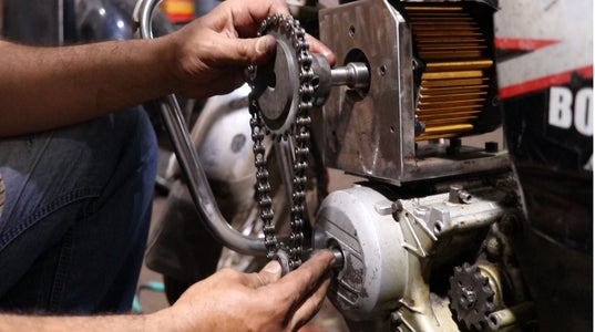 Primary and Secondary Chain Drive Installation
