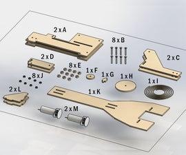 Intro: Lasercut Plywood Pulley Cran (Made by Soren Sorensen and Nick Larsen)