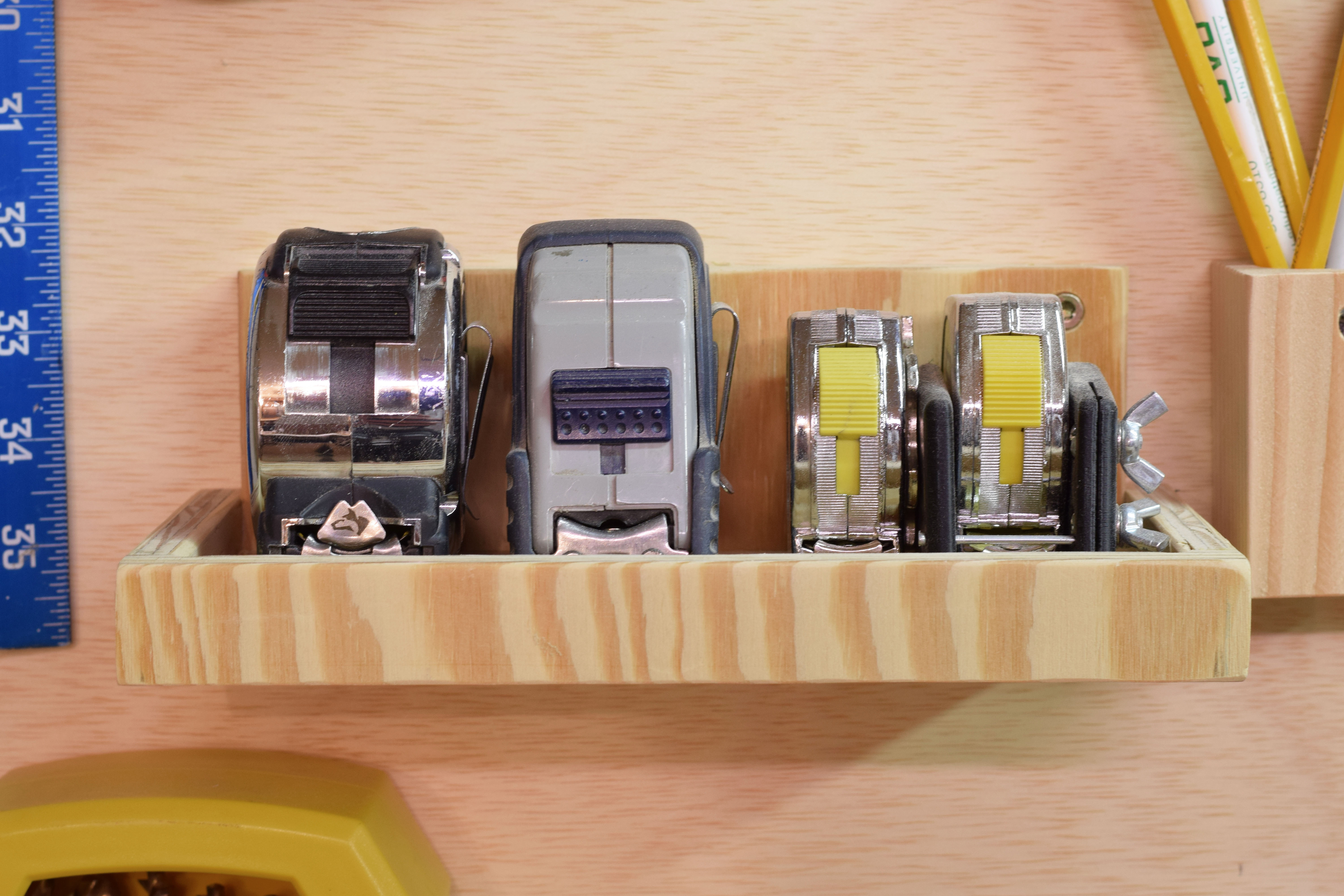 Picture of Tape Measure Shelf