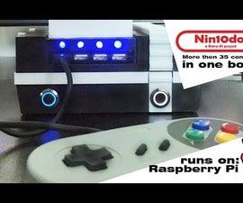 Raspberry Pi 'Nin10do' Retro Game Console