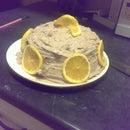 Orange Chocolate Crepe Cake