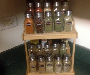 Make a Nice Spice-rack on the Cheap!