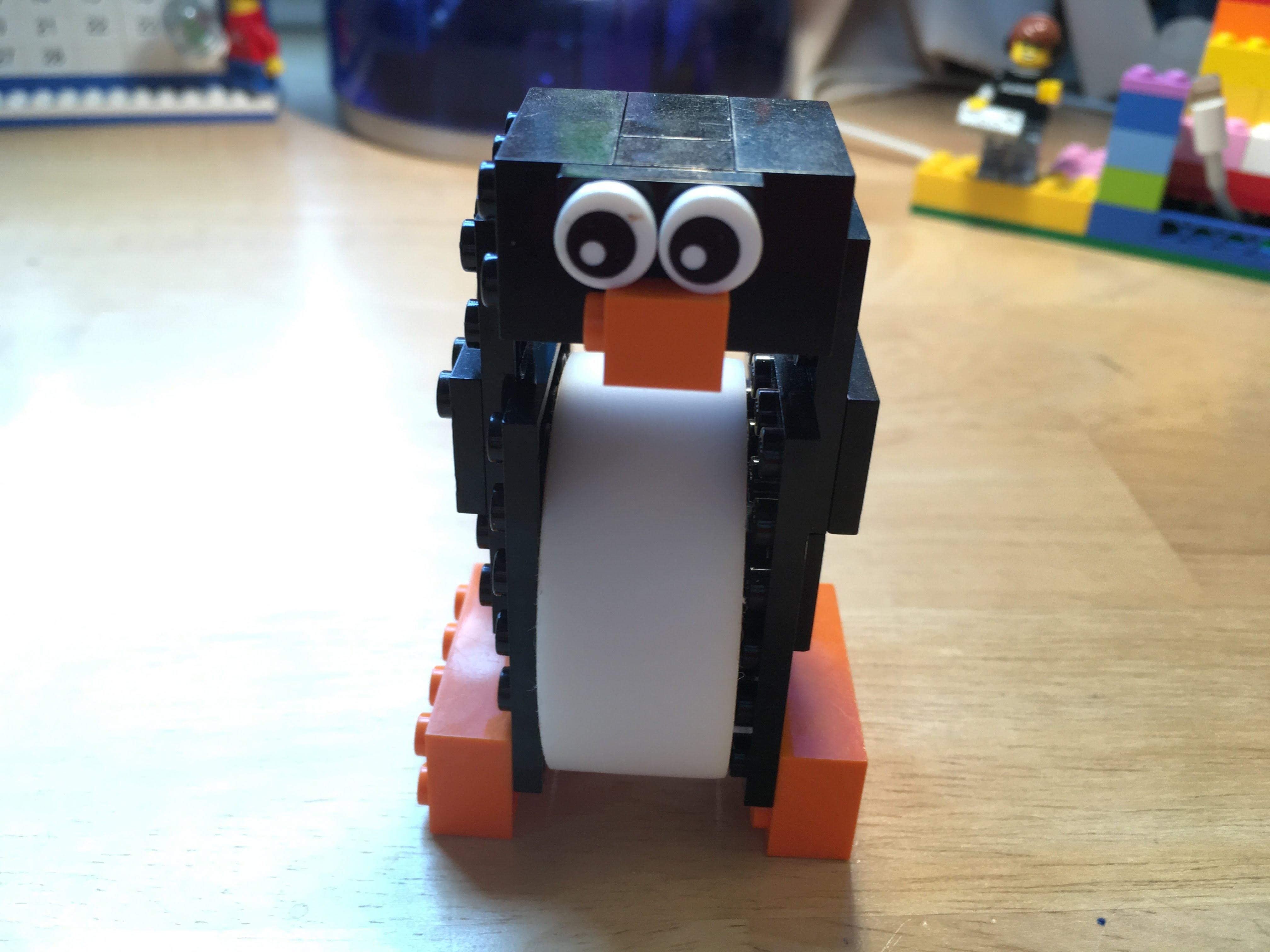 Picture of Lego Penguin Tape Dispenser