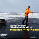 Pluk Sled - (Winter Camping)