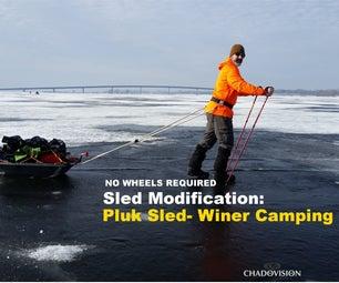 Pluk Sled - (Winter Camping)