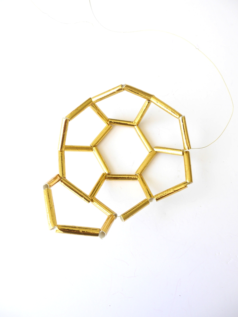 Picture of Making a Row of Hexagons - Part 2