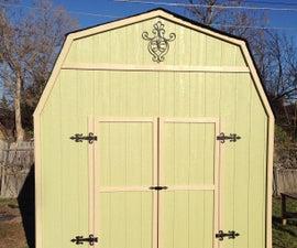 Backyard Barn with Flair