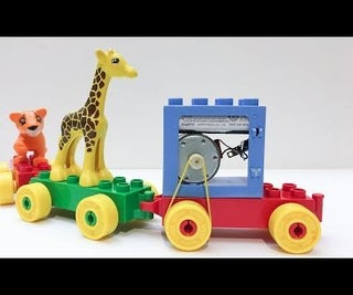 DIY Electric Lego Duplo Train