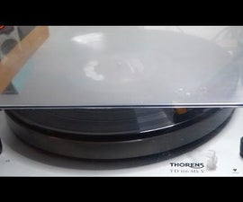Restore Your Turntable Dust Cover