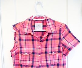 How to Convert a Shirt to Sleeveless