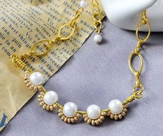 Beebeecraft Tutorials on Making Pearl Bracelet