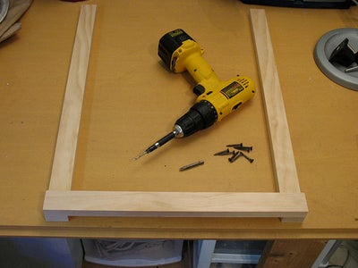Start Assembly of Wood Frame