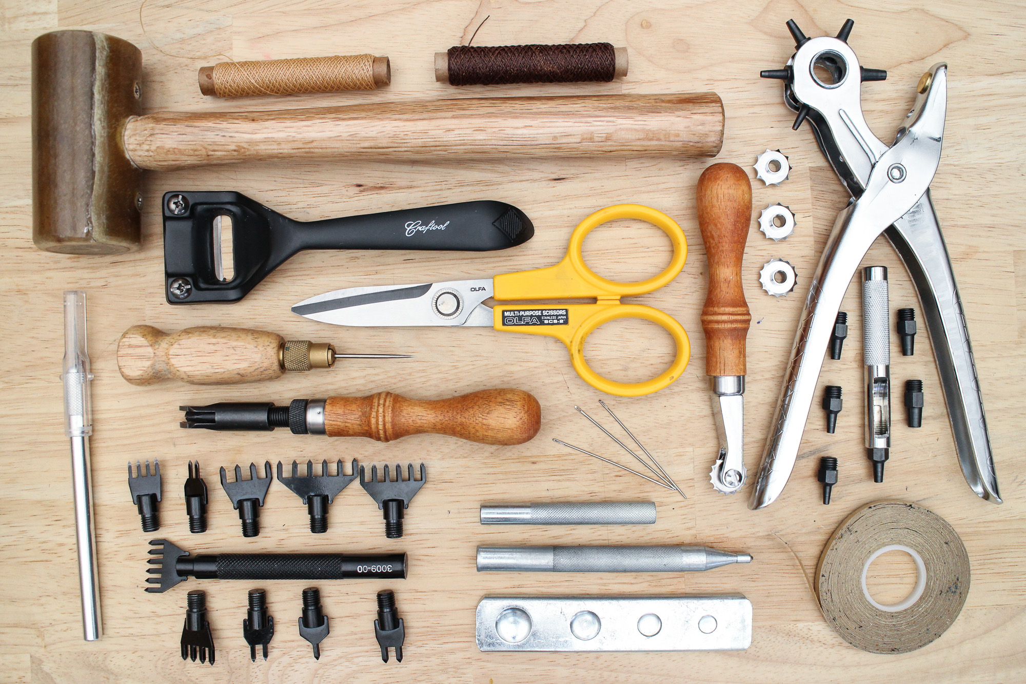 Picture of Leather Tools and Supplies