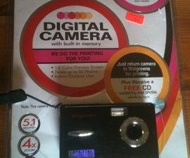 Walgreens digital camera