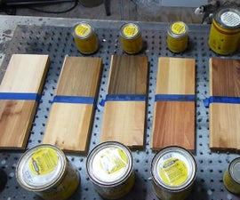 The Effects of Different Stains on White Pine Wood