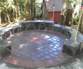 How to make a Stone Patio Fire Pit