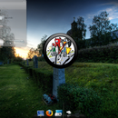 part2: personalized gdesklets clock image