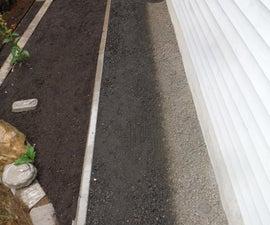 Concrete Mow Strip (Curb or Edging)