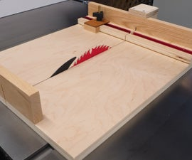 Small Parts Crosscut Sled + Miter Attachment