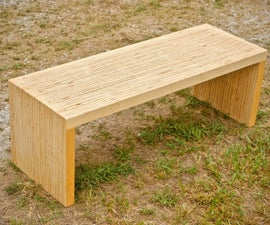 DIY Plywood Coffee Table Made With One Sheet of Plywood - Woodworking