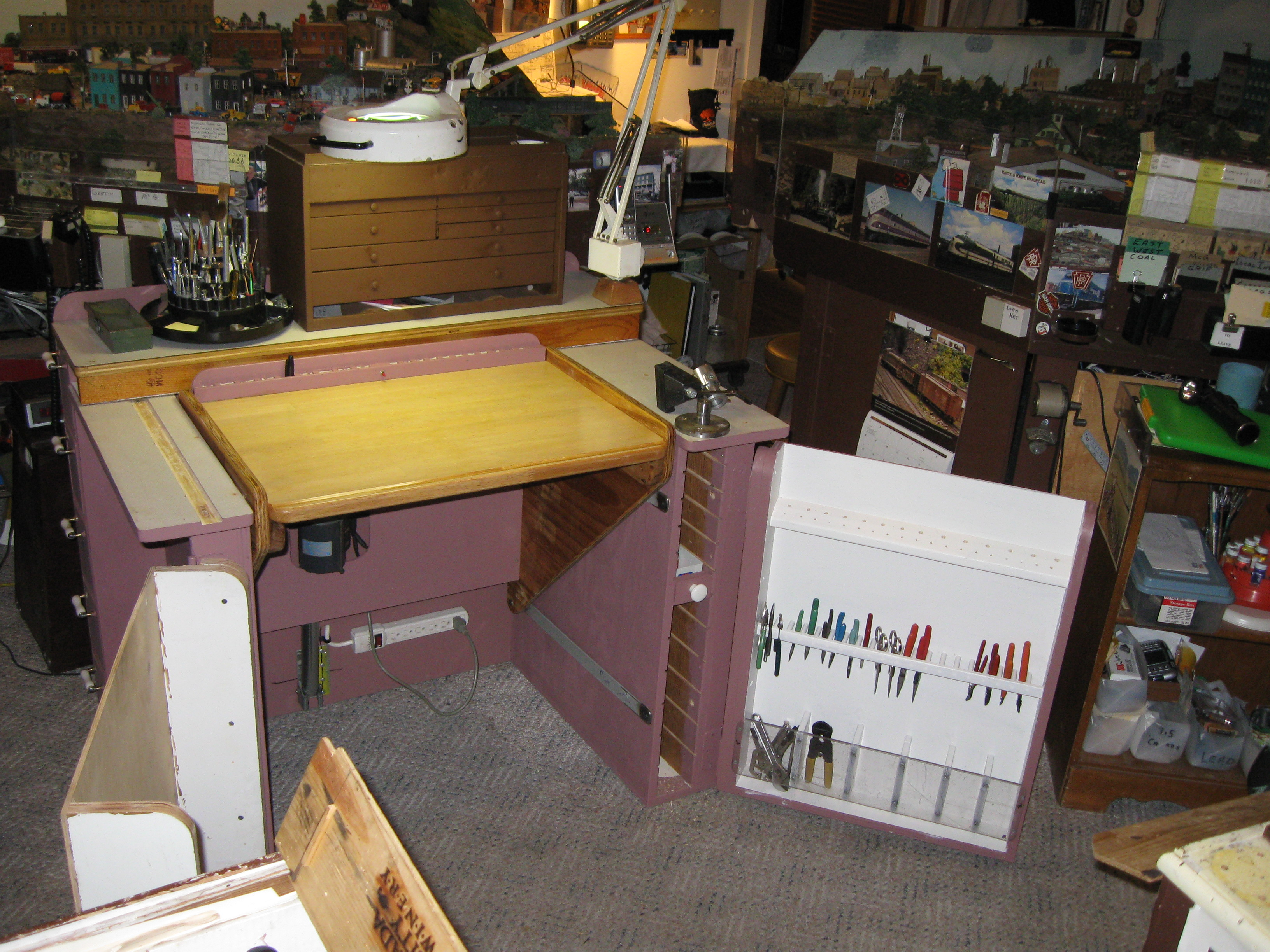Picture of Tool Storage Swing Panels