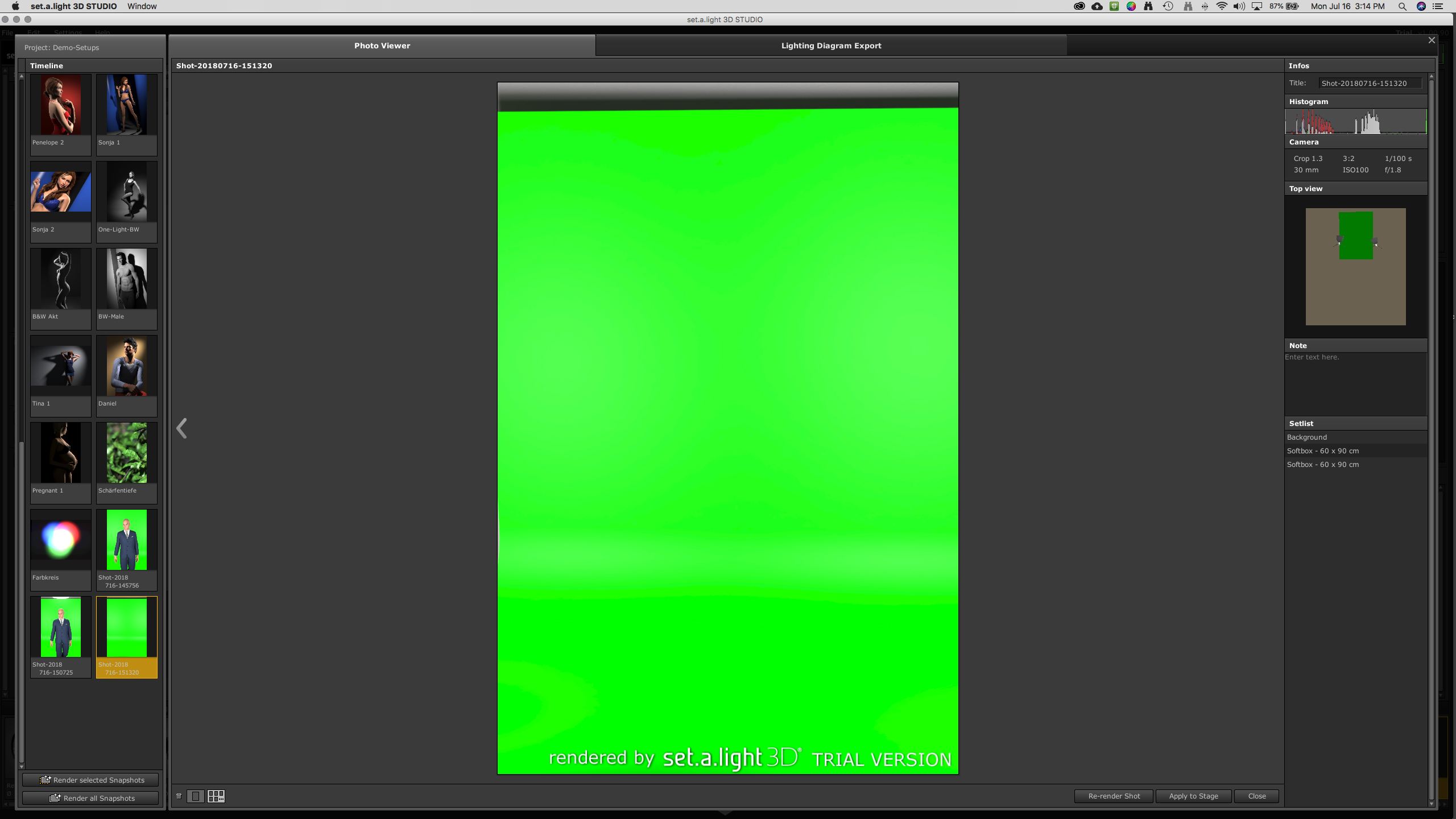 Picture of Lighting Your Green Screen
