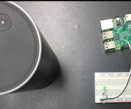 Control Raspberry Pi GPIO Using Amazon Echo (ngrok)