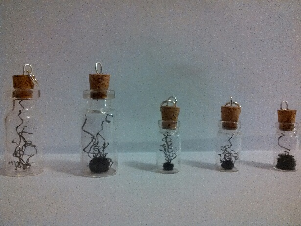 Picture of Meteorite Mini Glass Bottle Charms