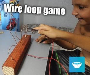 Wire Loop Buzzer Game