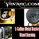 5 Gallon, Metal Bucket, Wood Burning Stove for Camping
