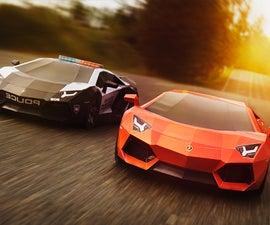 Lamborghini Aventador - Paper-Super-Craft