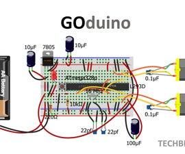 GOduino - The Arduino Uno + Motor Driver clone