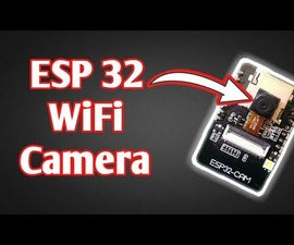 ESP 32 Camera Streaming Video Over WiFi |Getting Started With ESP 32 CAM Board