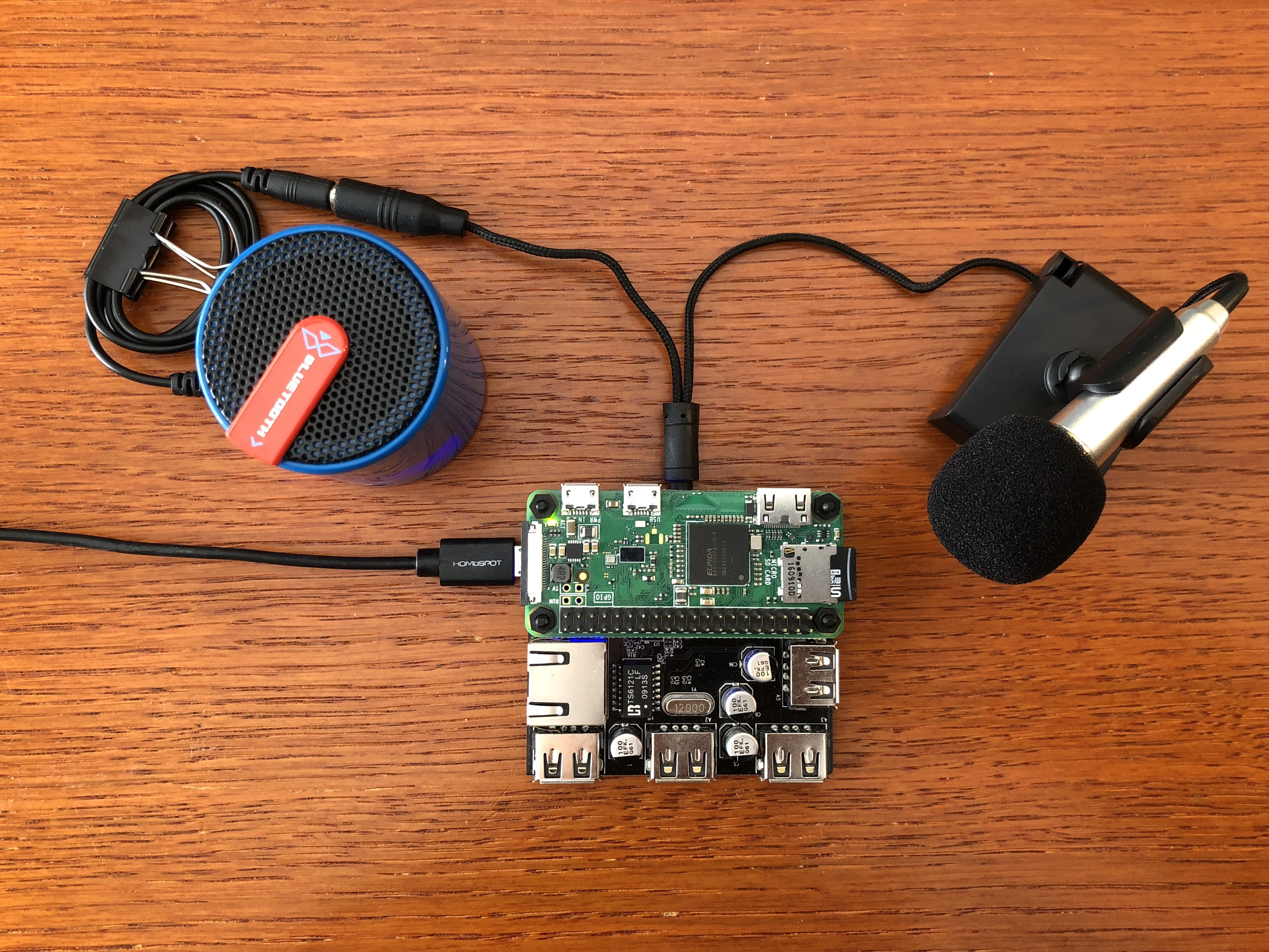 Picture of Alexa Voice Assistant on Raspberry Pi Zero Docking Hub