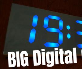 Big Digital Clock