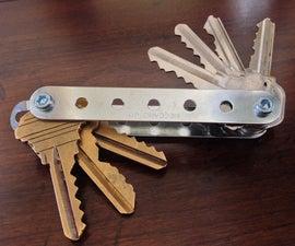 DIY KeySmart/Key Organizer