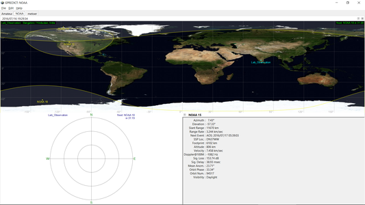 Understanding When to Record Signals From Satellites