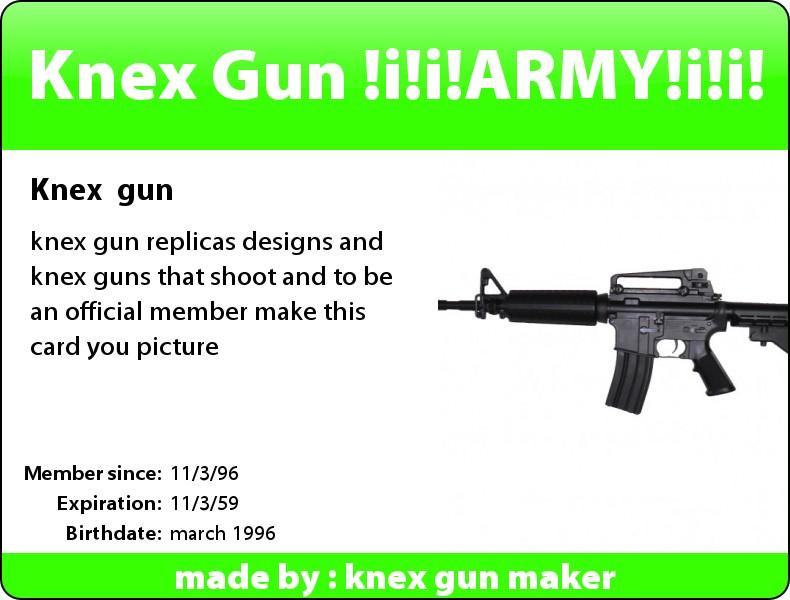 Picture of K'nex Gun / Arrow Shooter