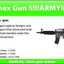K'nex gun / arrow shooter