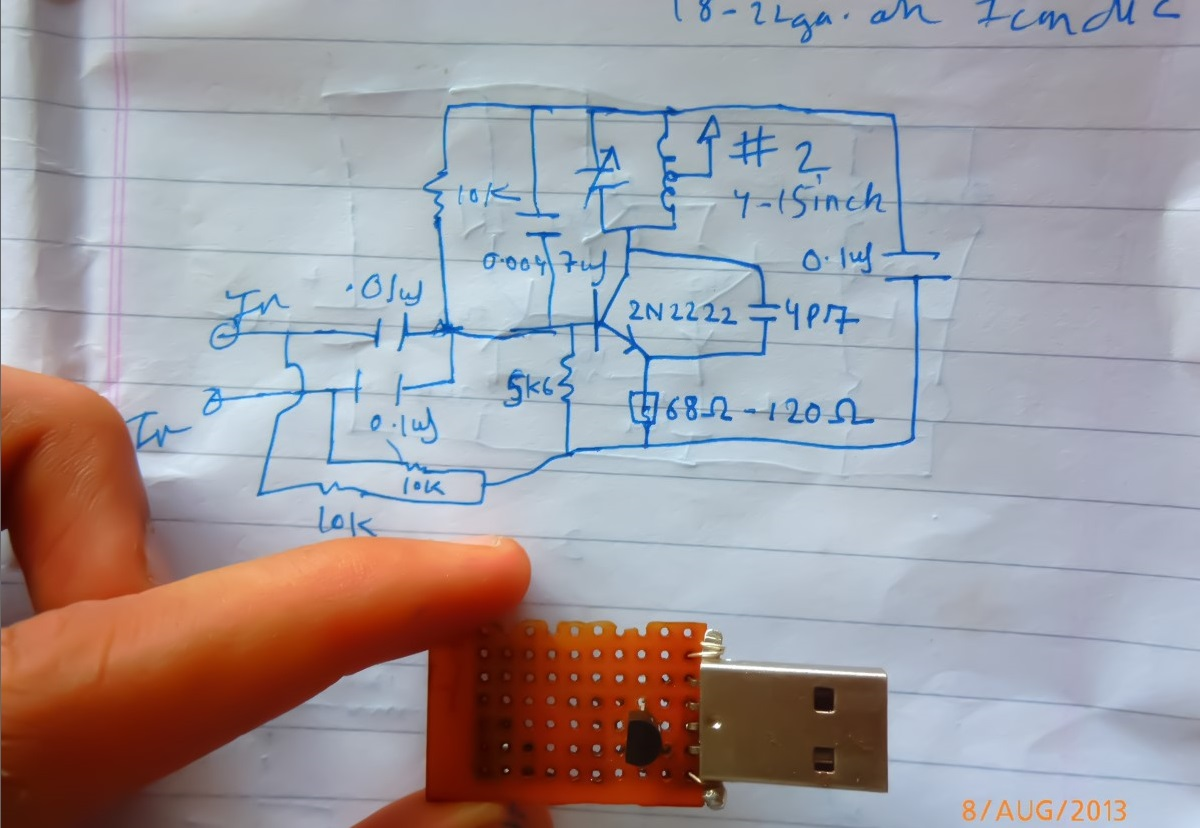 Picture of Making the Emitter