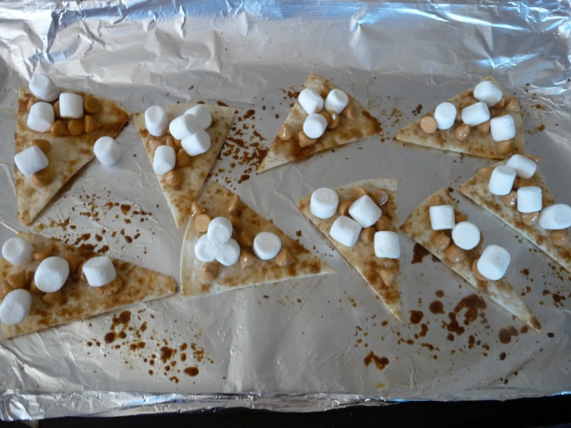 Picture of Butter-Nut Nacho S'mores