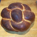 Make a Round Braided Challah Bread