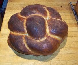 Make a Round Braided Challah Bread