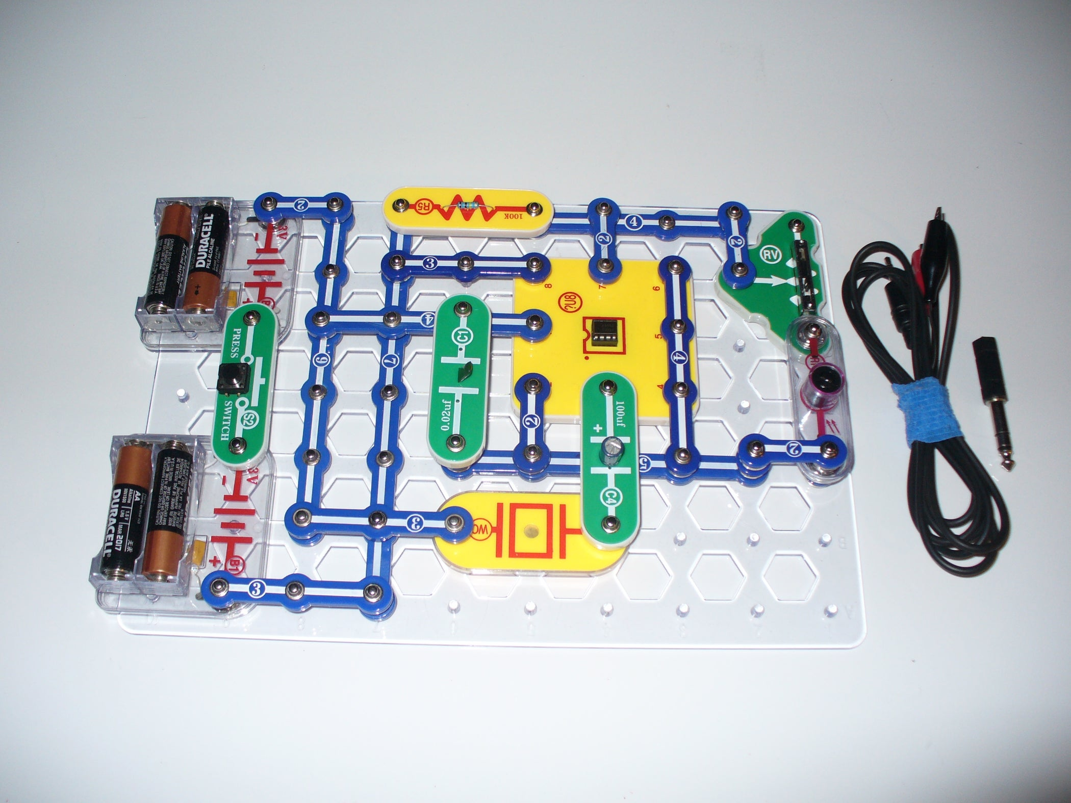 Superb Build An Optical Theremin Improve Your Snap Circuits By Adding A Wiring Digital Resources Skatpmognl