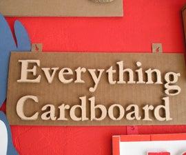 Cardboard, Cardboard, Cardboard!